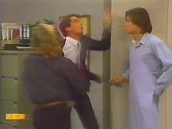 Scott Robinson, Derek Morris, Mike Young in Neighbours Episode 0797