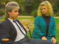 Nick Page, Sharon Davies in Neighbours Episode 0797