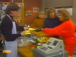 Mike Young, Jane Harris, Henry Ramsay, Madge Bishop in Neighbours Episode 0797