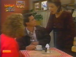 Madge Bishop, Paul Robinson, Gail Robinson in Neighbours Episode 0797