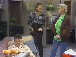 Paul Robinson, Gail Robinson, Helen Daniels in Neighbours Episode 0806