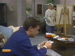 Paul Robinson, Helen Daniels in Neighbours Episode 0806