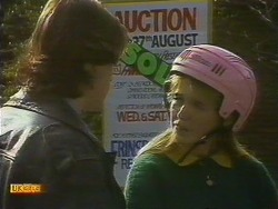 Mike Young, Bronwyn Davies in Neighbours Episode 0806