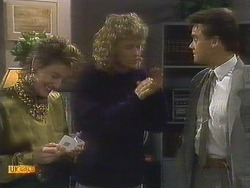 Gail Robinson, Henry Ramsay, Paul Robinson in Neighbours Episode 0807