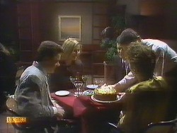 Paul Robinson, Penelope Porter, Des Clarke, Gail Robinson in Neighbours Episode 0807