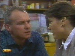 Jim Robinson, Beverly Marshall in Neighbours Episode 0808