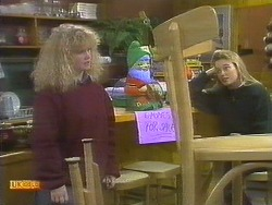 Sharon Davies, Bronwyn Davies in Neighbours Episode 0809
