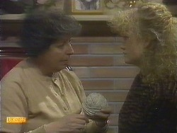 Edith Chubb, Sharon Davies in Neighbours Episode 0809