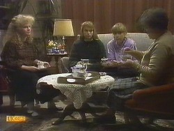 Sharon Davies, Bronwyn Davies, Jane Harris, Nell Mangel in Neighbours Episode 0809