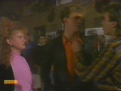 Sharon Davies, Bruce Zadro, Nick Page in Neighbours Episode 0810