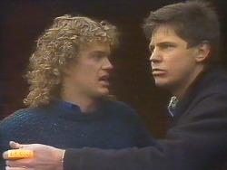 Henry Ramsay, Joe Mangel in Neighbours Episode 0814