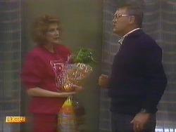 Madge Bishop, Harold Bishop in Neighbours Episode 0814