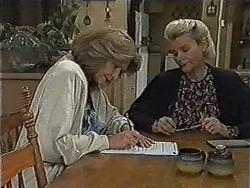 Madge Bishop, Helen Daniels in Neighbours Episode 1004