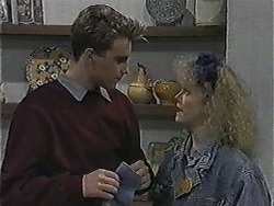 Nick Page, Sharon Davies in Neighbours Episode 1004