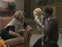 Madge Bishop, Sky Mangel, Harold Bishop in Neighbours Episode 1004