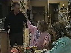 Harold Bishop, Madge Bishop, Henry Ramsay in Neighbours Episode 1004