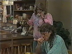 Madge Bishop, Henry Ramsay in Neighbours Episode 1004