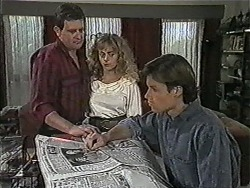 Des Clarke, Jane Harris, Mike Young in Neighbours Episode 1005