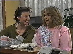 Gail Robinson, Madge Bishop in Neighbours Episode 1005