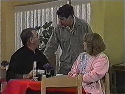 Harold Bishop, Joe Mangel, Madge Bishop in Neighbours Episode 1005