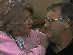 Madge Bishop, Harold Bishop in Neighbours Episode 1005