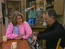 Madge Bishop, Henry Ramsay, Harold Bishop in Neighbours Episode 1006