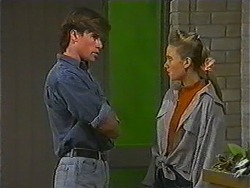 Mike Young, Bronwyn Davies in Neighbours Episode 1006