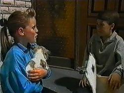 Katie Landers, Cujo, Toby Mangel in Neighbours Episode 1006