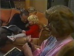 Harold Bishop, Sky Mangel, Madge Bishop in Neighbours Episode 1006