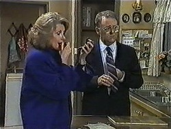 Madge Bishop, Harold Bishop in Neighbours Episode 1007