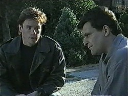 Mike Young, Des Clarke in Neighbours Episode 1007
