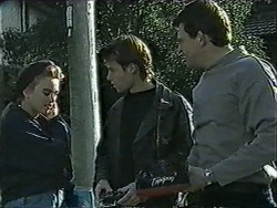 Bronwyn Davies, Mike Young, Des Clarke in Neighbours Episode 1007