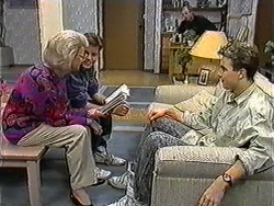 Helen Daniels, Todd Landers, Jim Robinson, Nick Page in Neighbours Episode 1008