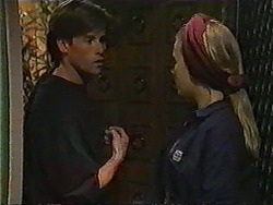 Mike Young, Bronwyn Davies in Neighbours Episode 1008