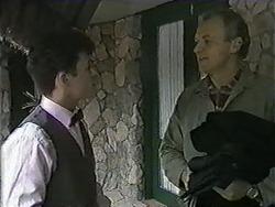 Rick Grace, Jim Robinson in Neighbours Episode 1009