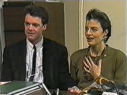 Paul Robinson, Gail Robinson in Neighbours Episode 1009