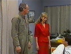 Jim Robinson, Jane Harris, Paul Robinson in Neighbours Episode 1009