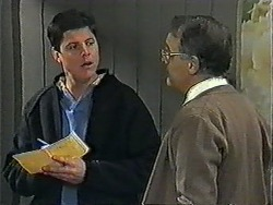 Joe Mangel, Harold Bishop in Neighbours Episode 1010