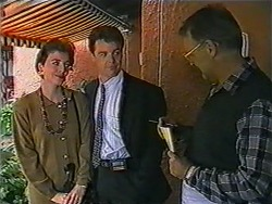 Gail Robinson, Paul Robinson, Harold Bishop in Neighbours Episode 1010