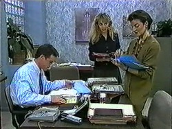 Paul Robinson, Jane Harris, Gail Robinson in Neighbours Episode 1011