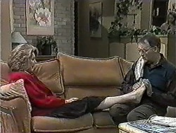 Madge Bishop, Harold Bishop in Neighbours Episode 1012