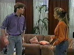 Mike Young, Bronwyn Davies in Neighbours Episode 1012