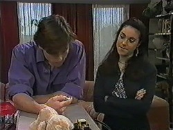 Mike Young, Kerry Bishop in Neighbours Episode 1012