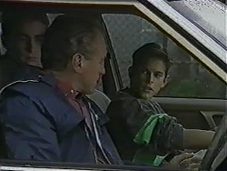 Nick Page, Jim Robinson, Todd Landers in Neighbours Episode 1012