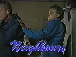 Jim Robinson, Les Murdock in Neighbours Episode 1012