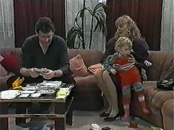 Des Clarke, Jane Harris, Jamie Clarke in Neighbours Episode 1013
