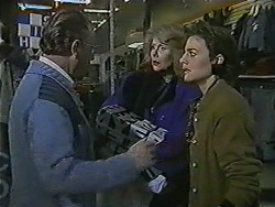 Security Guard, Madge Bishop, Gail Robinson in Neighbours Episode 1014