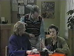 Madge Bishop, Harold Bishop, Gail Robinson in Neighbours Episode 1015