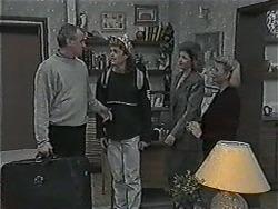 Jim Robinson, Henry Ramsay, Beverly Marshall, Helen Daniels in Neighbours Episode 1015