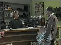 Bronwyn Davies, Harold Bishop in Neighbours Episode 1015